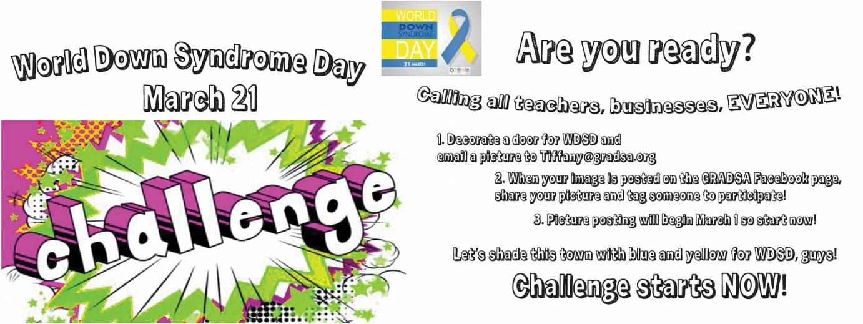 WDSD 21 Challenge